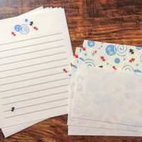 Japanese Letter Set - Goldfish - Fancy Stationery