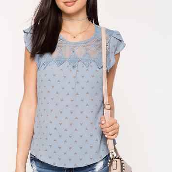 Samantha Printed Top