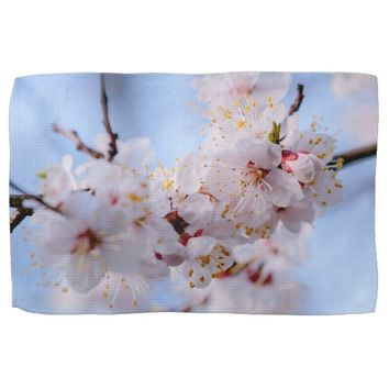 Japanese Apricot Blossom Hand Towel