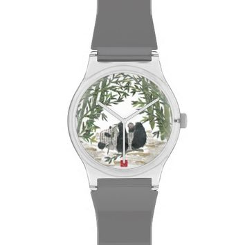 Panda Bear Unique Oriental Design Watch