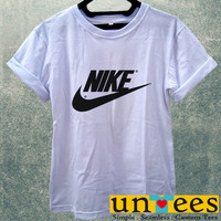 Nike Logo Women T Shirt
