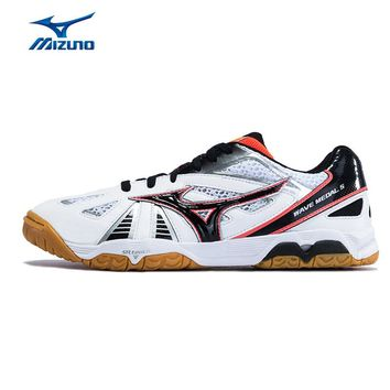 MIZUNO Men WAVE MEDAL 5 Table Tennis Shoes Cushion Stable Sports Shoes Breathable Sneakers 81GA151510 YXT016