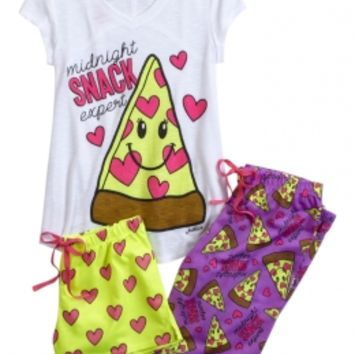 MIDNIGHT SNACK PAJAMA SET | GIRLS PAJAMAS SLEEP & UNDIES | SHOP JUSTICE
