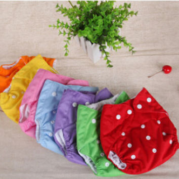 Baby Newborn Reusable Diapers