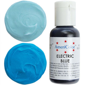 Neon Blue Gel Paste Food Color