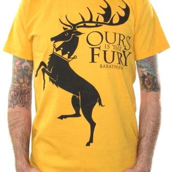 Game Of Thrones T-Shirt - House Baratheon