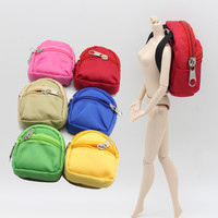 1PCS Dolls Bag Accessories backpack For Barbie Doll For BJD 1 6 blyth doll Best Gift