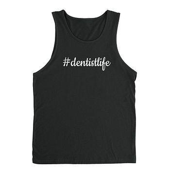 Dentist life dental hygienist dentistry funny graduation  Tank Top