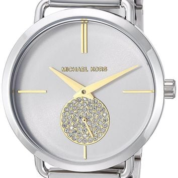 Michael Kors Watches Portia Two-Hand Sub-Eye Watch