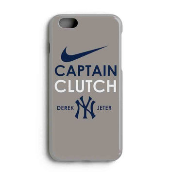 "Apple Iphone 6 4.7"" Case - The Best 3d Full Wrap Iphone Case - Derek Jeter Captain Clutch New York Yankees"