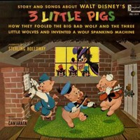 Story and Songs About Walt Disney's 3 Little Pigs [Vinyl LP]