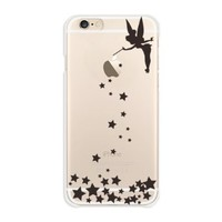 IQLabo Disney TinkerBell Hard Clear Cover for iPhone6 4.7inch Japan