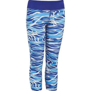 Under Armour Girls' Alpha Printed Capri