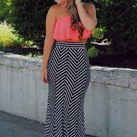 Fifth Avenue Maxi Skirt