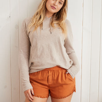 Aerie Easy Short, Orange Haze