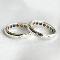9 Gemstones Ring Hidden Gemstone Jawelry