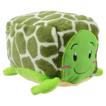"SeaWorld Stackseas Turtle Plush 4"" New with Tag"