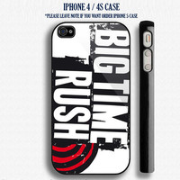 New Custom Big Time Rush IPhone 4 / 4S  and also available on iphone 5 Case Apple Phone Cover Plastic  3