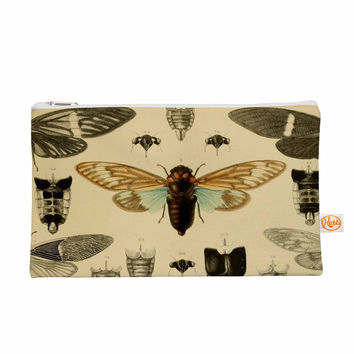 "Suzanne Carter ""Vintage Cicada"" Bugs Pattern Everything Bag"