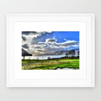 Scotland Framed Art Print by Haroulita | Society6