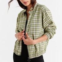 UO Plaid Harrington Jacket | Urban Outfitters