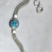 Snap charm will fit your 18-20 mm Ginger Snaps jewelry and your Noosa jewelry. 20 mm  snap button.