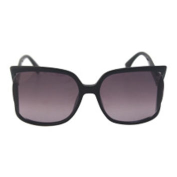 Fendi FF 0053/S D28EU - Shiny Black Sunglasses Fendi