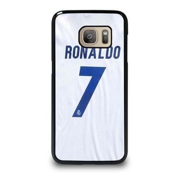 RONALDO CR7 JERSEY REAL MADRID Samsung Galaxy S7 Case Cover