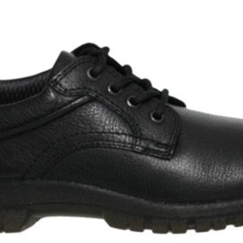 Hush Puppies Mens Shoes Outclass Oxford Black WaterProof Leather H103663