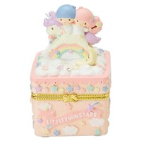 Little Twin Stars Jewel Case Accessory Holder Sanrio Japan Exclusive