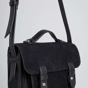 BDG Suede Mini Messenger Bag - Urban Outfitters