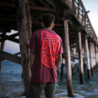 Pull Up Classic T Shirt Crimson