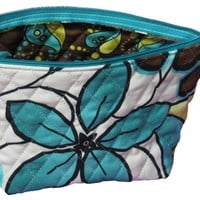 Pdf Pattern EASIEST ZIPPERED Cosmetic Bag Pattern - For Beginner | Luulla