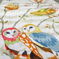 Supermarket: Owl Tree Table Runner from Betsy Olmsted