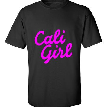 Cali Girl Pink California Life West Cooast California Republic T-Shirt