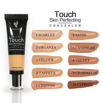 Younique Touch Skin Perfecting Fine-skin Make-up 10-color Concealer [10975215244]