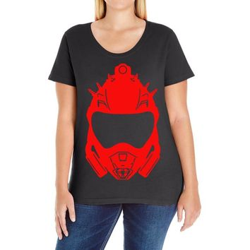 venator mark ii graphic Ladies Curvy T-Shirt