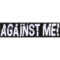 Against Me Sticker