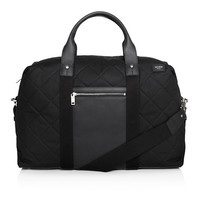 Quilted Two-Tone Duffle Bag by Jack Spade