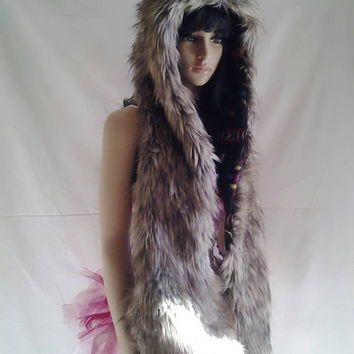 Timber Wolf custom Spirithood