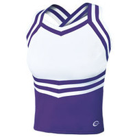 New for 2013 the X-Back Cheerleading Uniform Shell Top by Chasse