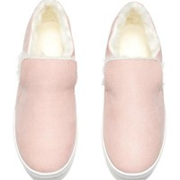 Warm-lined slip-on trainers - Light pink - Ladies | H&M GB