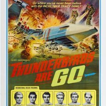 Thunderbirds Are Go Metal Print 8in x 12in