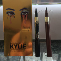 Birthday Set Lip Gloss KYLIE Eyeliner Liquid