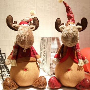 Christmas Deer 46cm Decoration Cute Toy [9609317263]