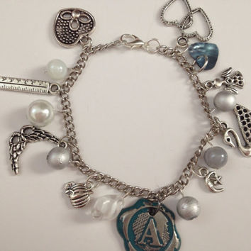 Design Your Own Pretty Little Liars Charm Bracelet, pretty little liars bracelet, pll, Made to Order