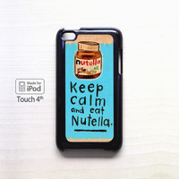 KEEP CALM NUTELLA For Ipod 4/Ipod 5 case ZG