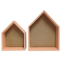 2 Pack House Shelves with Pinboard - Pillowfort™