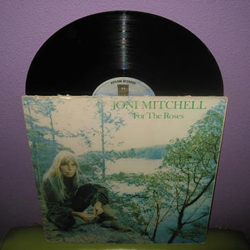 Vinyl Record Album Joni Mitchell - For The Roses LP 1972 Folk Pop Classics