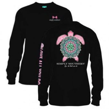 *Simply Southern LS Turtle Black